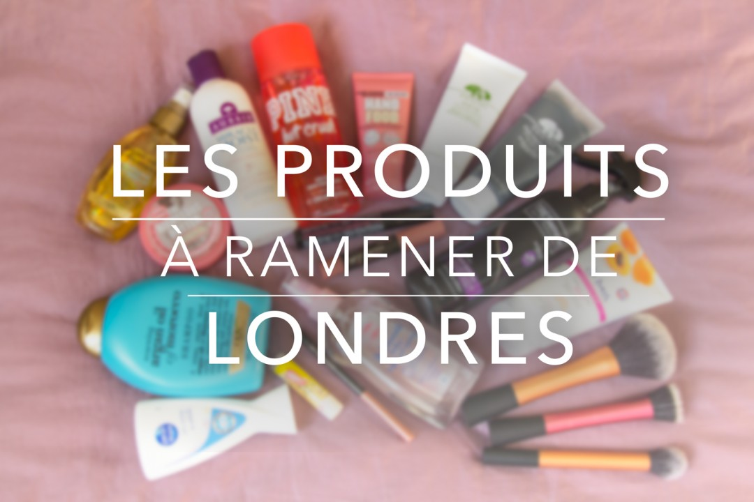 Photos produits Londres du blog SiAndTalk