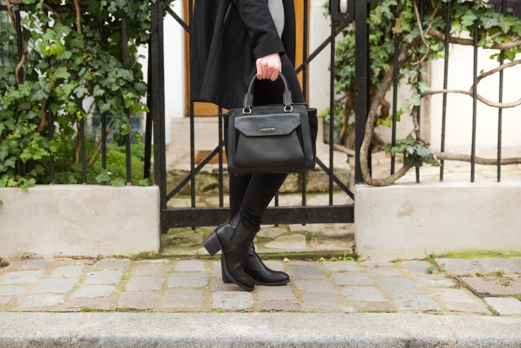 Look : Monochrome et Col Claudine - SiAndTalk Blog