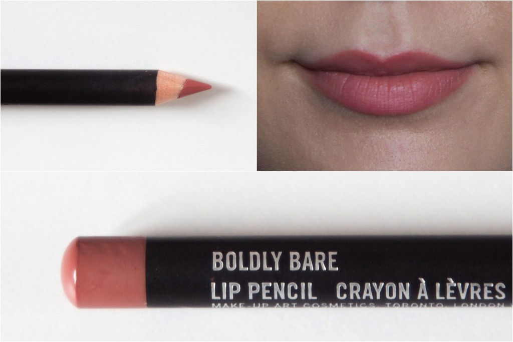 Mes crayons a levres MAC favoris - Swatch Boldly Bare - SiAndTalk Blog